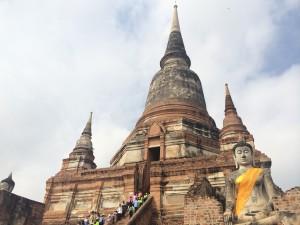 タイ世界遺産観光とゴルフ