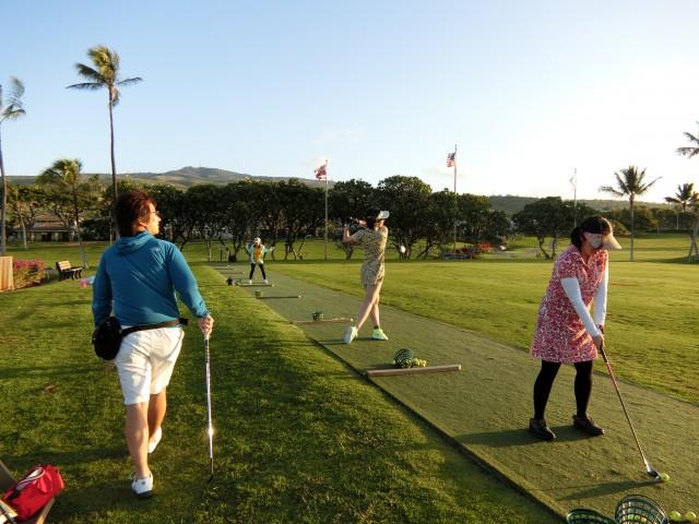 ハワイゴルフ合宿