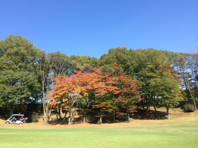 秋のゴルフ合宿