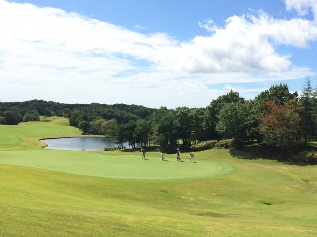 女子プロゴルファーによる那須白河ゴルフ合宿