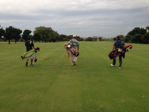 赤羽ゴルフ倶楽部でラウンド会の写真